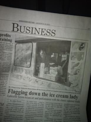 Ice Cream Lady Article