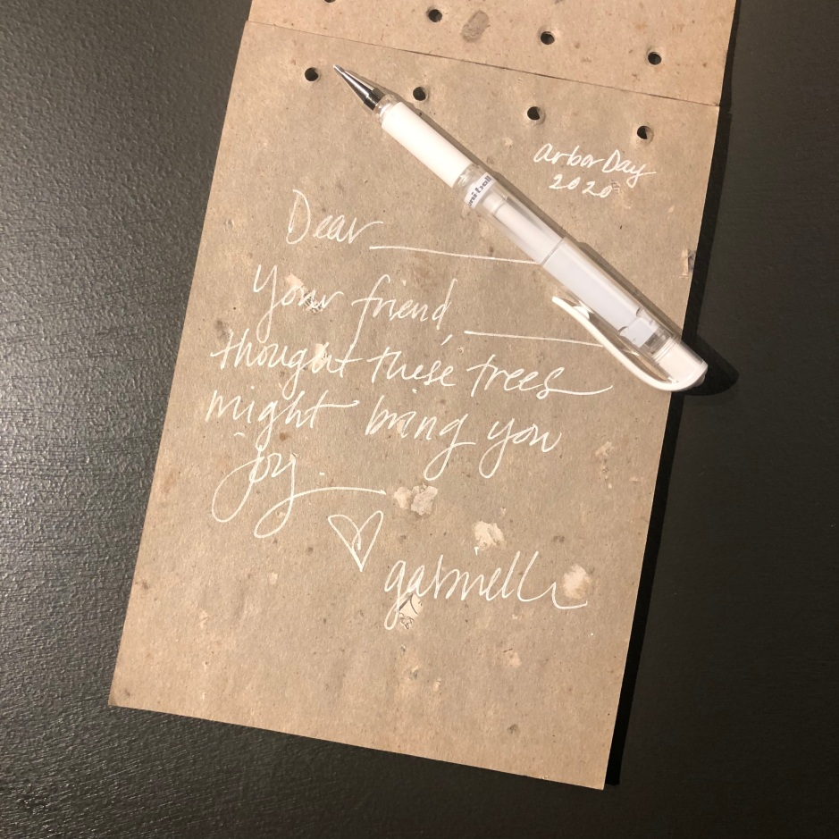 A Note to Your Friend